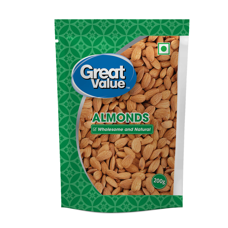Great Value Almonds
