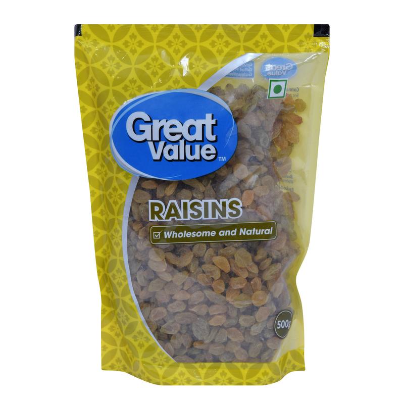 Great Value Raisins