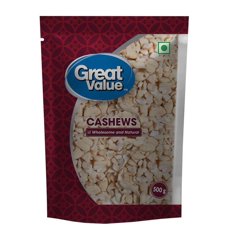 Great Value Cashews 4 Piece