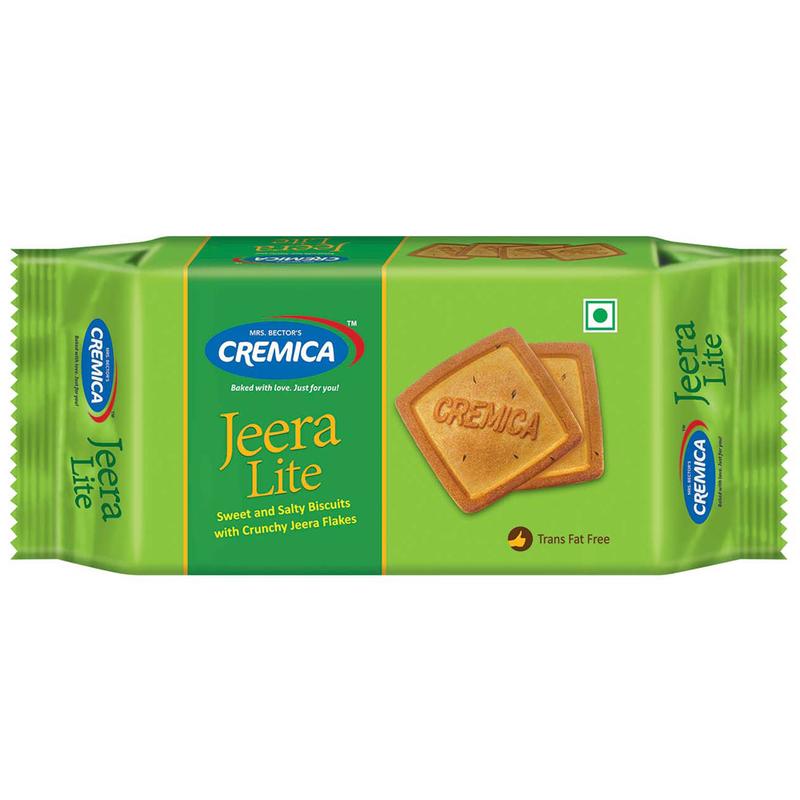Cremica Jeera Lite Salted Biscuits