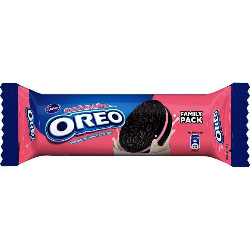 Cadbury Oreo Strawberry Creme Biscuit