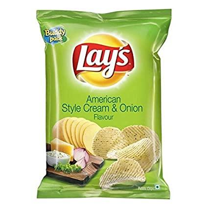 American Style Cream & Onion Flavour