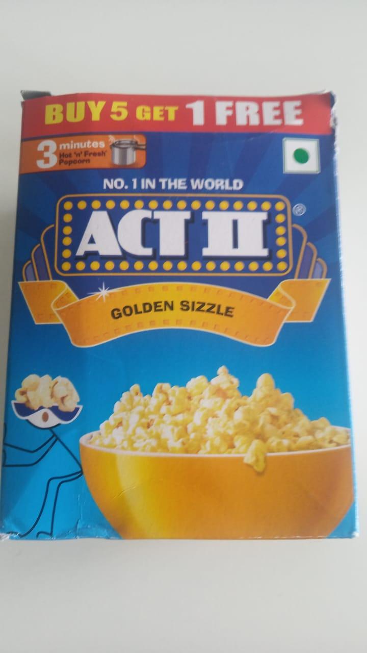 Act Ii Golden Sizzle Popcorn