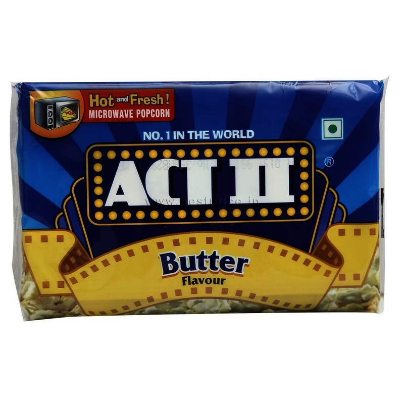 Act Ii Microwave Popcorn Butter