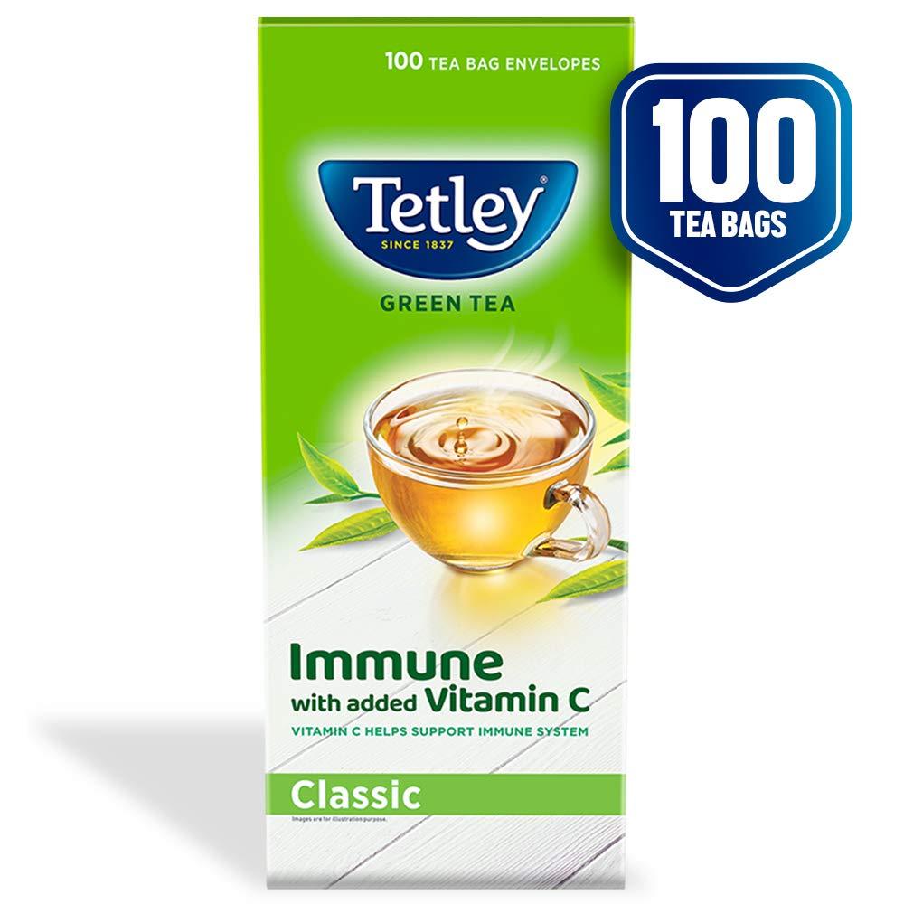 Tetley Green Tea Immune With Vitamin C Classic