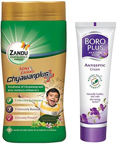 Zandu Sona Chandi Chyawanprash / Free Boro Plus