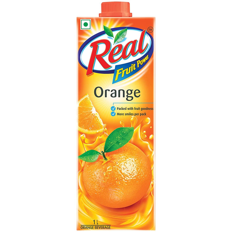 Real Fruit Juice Orange