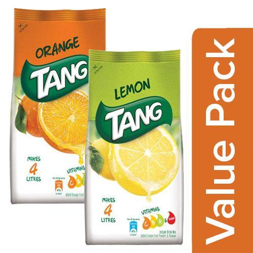 Instant Drink Mix - Orange 500 Gm + Lemon 500 Gm
