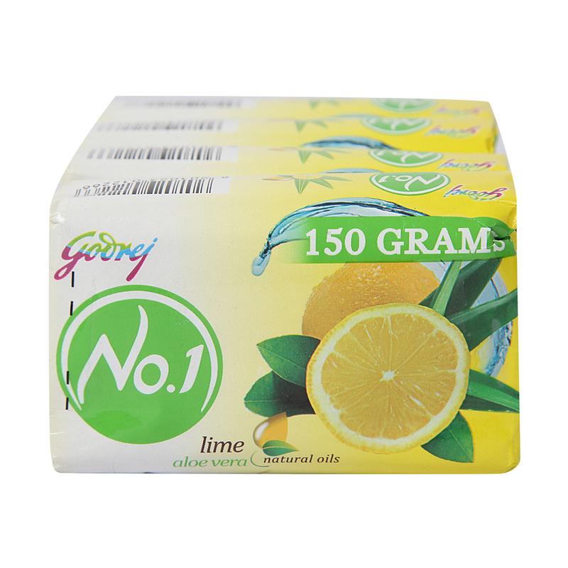 Godrej No.1 Lime & Alv 3 X 150 G 150 G