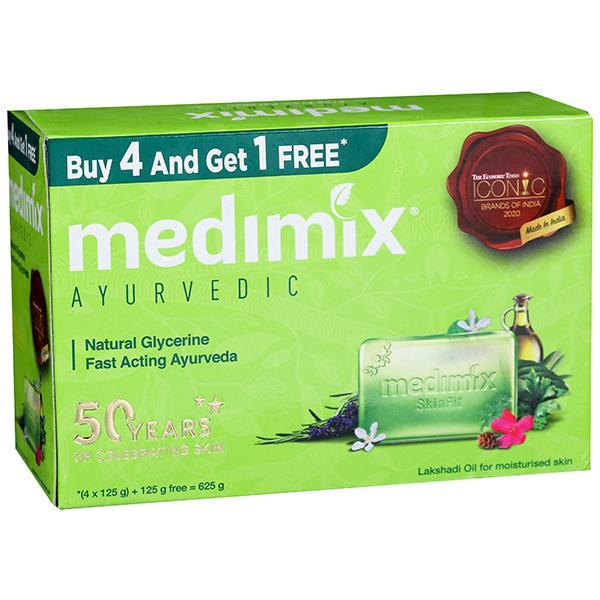 Medimix Ayurvedic Bathing Bar 4 In 1
