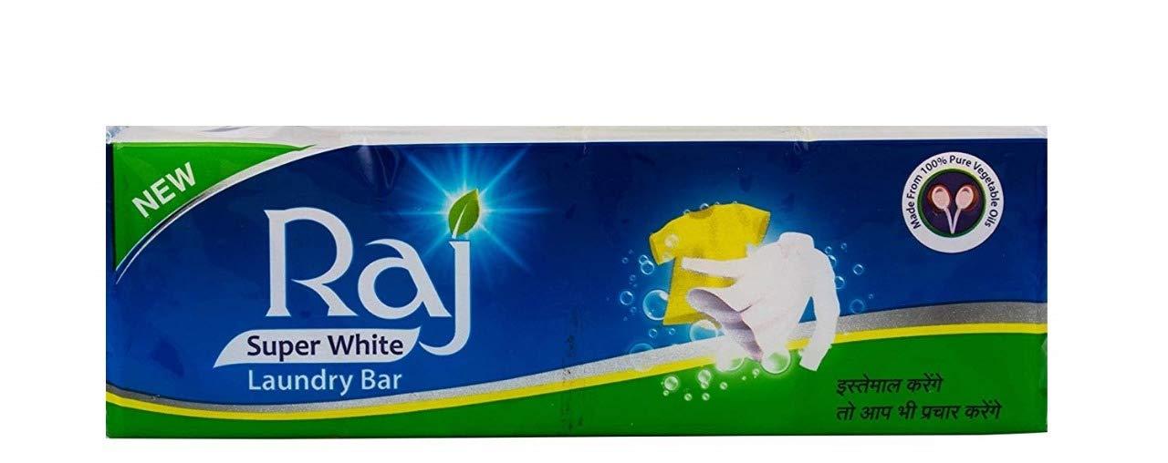 Raj Super White Laundry Bar