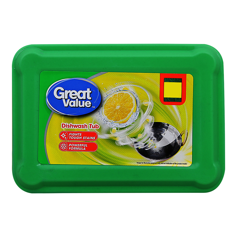 Great Value Dishwash Bar