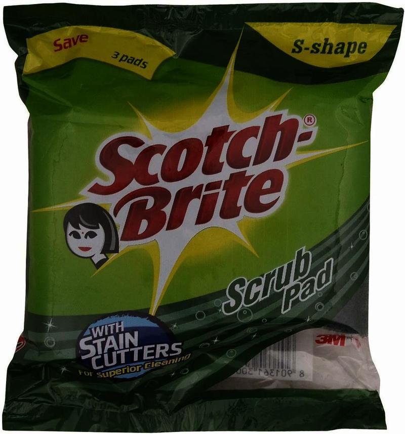 Scotch Brite Scrub Pad 7.5 Cm X 10 Cm