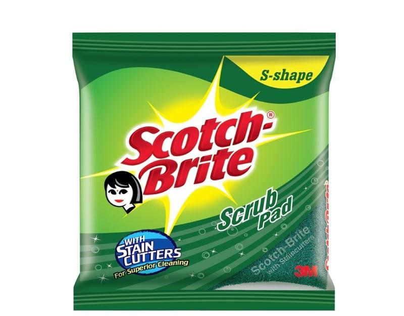Scotch Brite Scrub Pad Size 7.5 Cm X 10 Cm