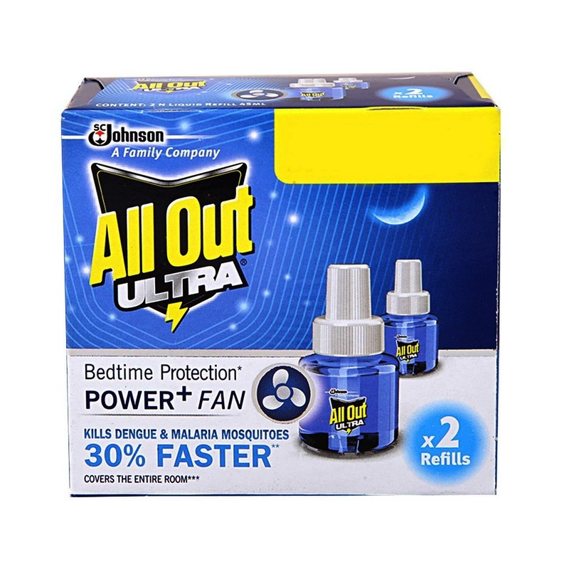 All Out Ultra Refill Twin Pack 2 N