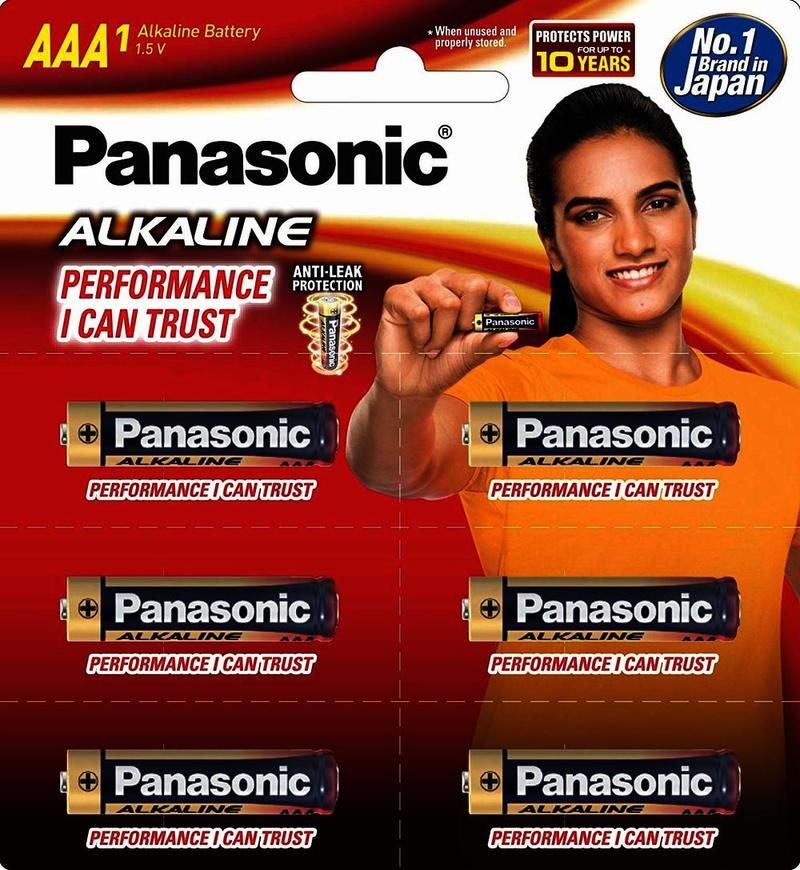 Panasonic Gold Aaa Remote Cell Battery