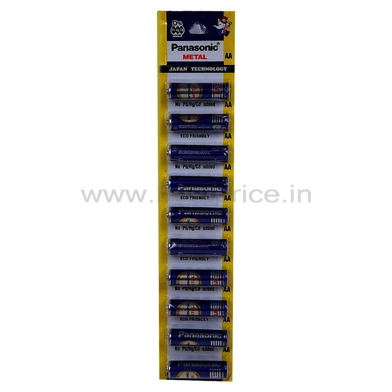 Panasonic Blue Metal Aa Cell Battery