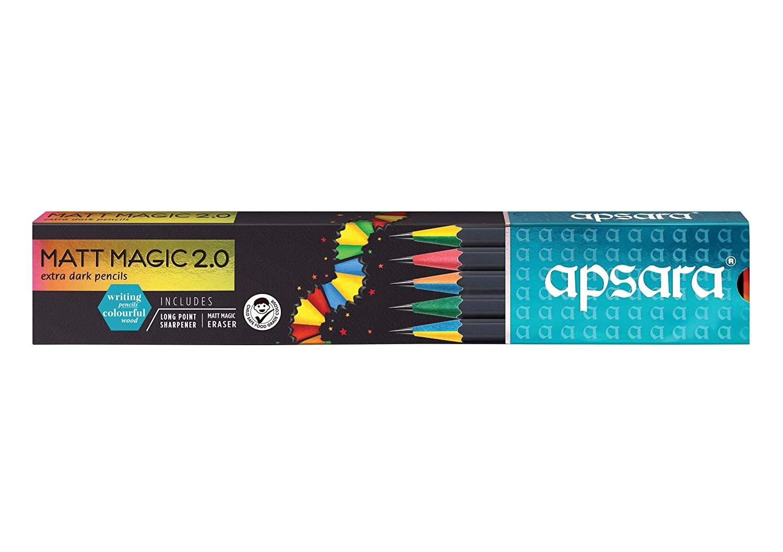Apsara Matt Magic 2.0 Pencils